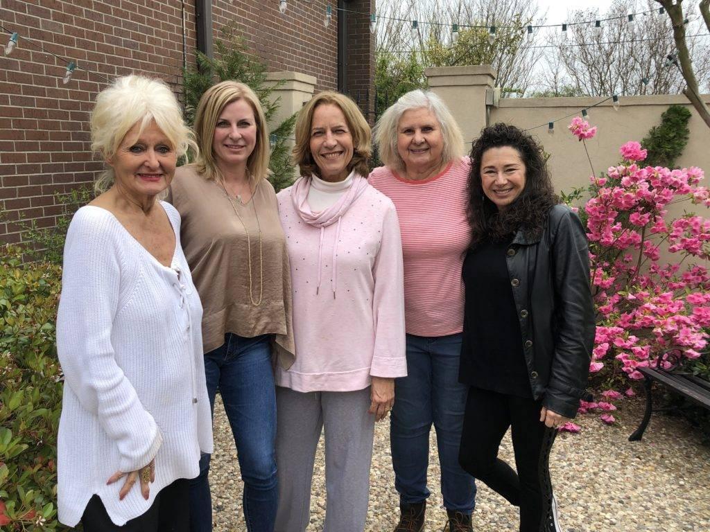Virginia Johnson, Jennifer Johnson, Vickie Krutzer, Crissy Bains, Karen Solomon