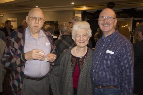 Harold, Marjory and John LaGrone